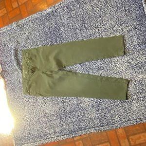 Eddie Bauer army green pants